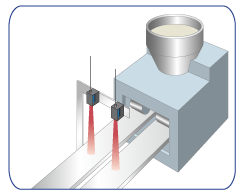 Temperature check during injection molding