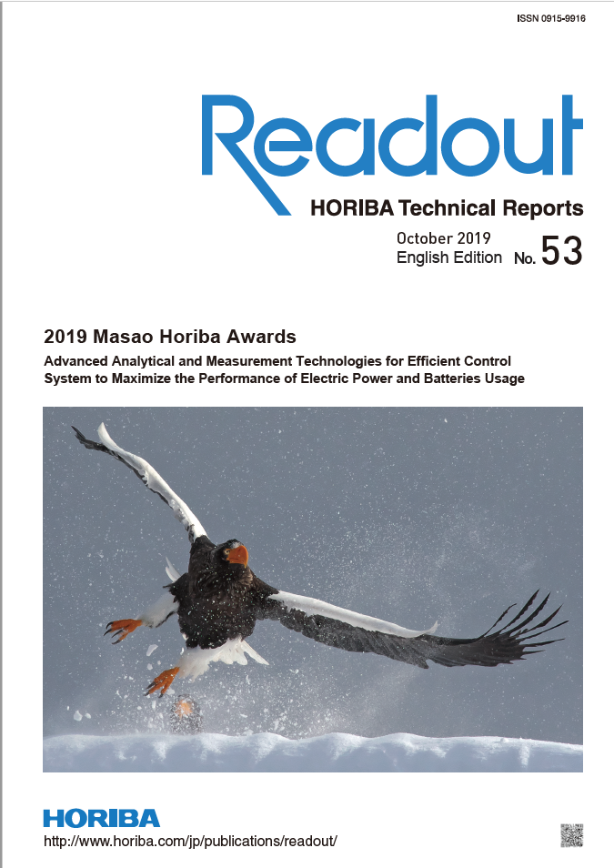 Readout HORIBA Technical Reports October 2019 No. 53