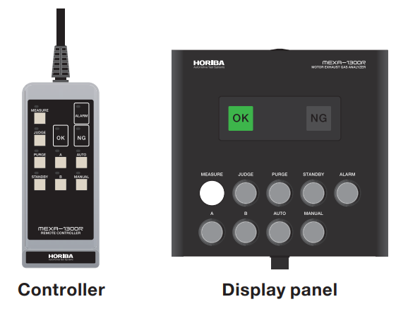 MEXA-1300R - Controller Display Panel