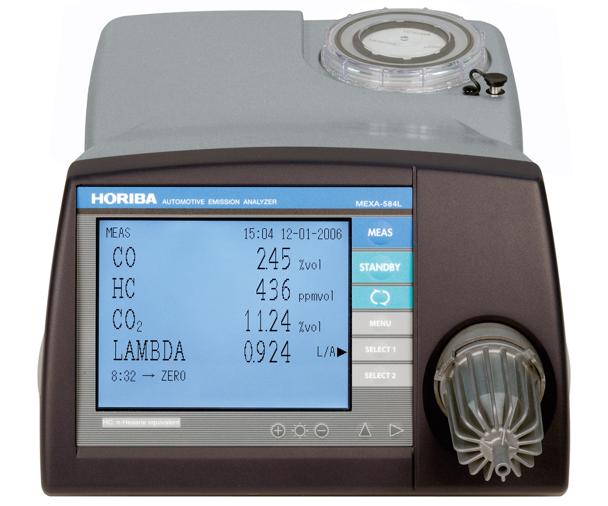 MEXA-584L - Automotive Emission Analyzer