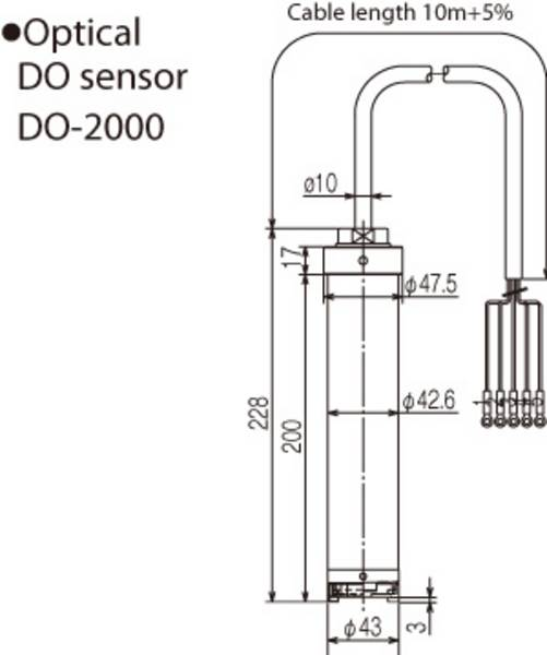 Optical DO sensor DO-2000