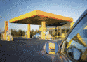 Vehicle mentenance site and gas station