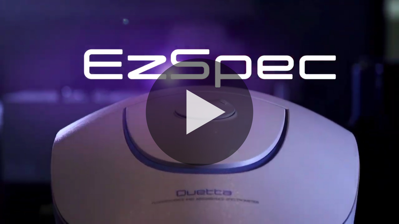 EzSpec Fluorescence and Absorbance Software Video