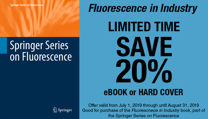 Springer Series on Fluorescence book coupon