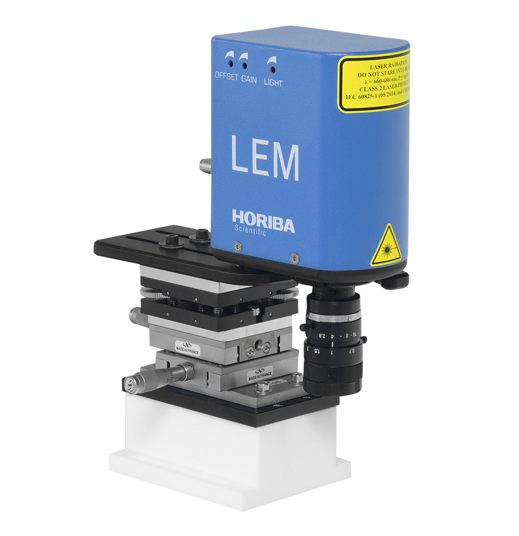 LEM Series Camera Endpoint Monitor based on Real Time Laser Interferometry