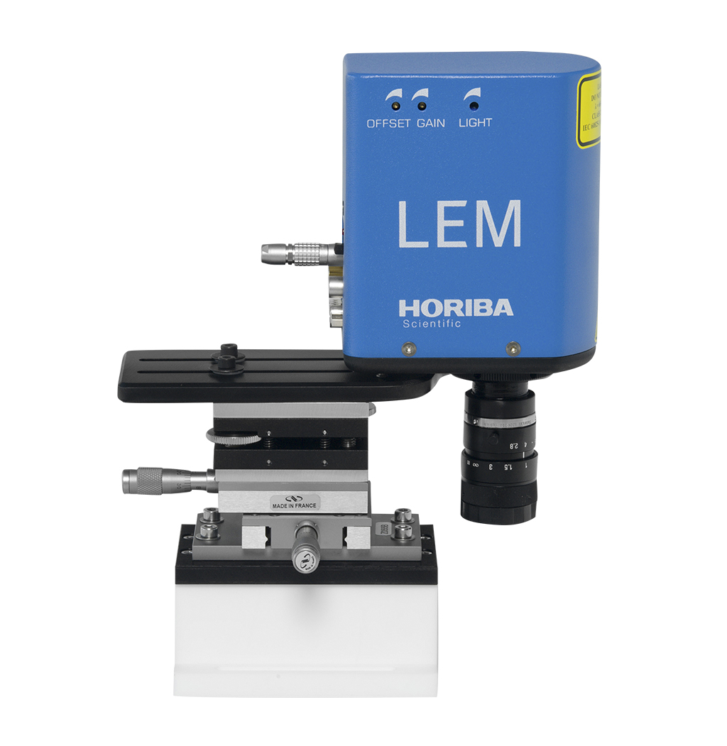 LEM Series Camera Endpoint Monitor based on Real Time Laser Interferometry, side view