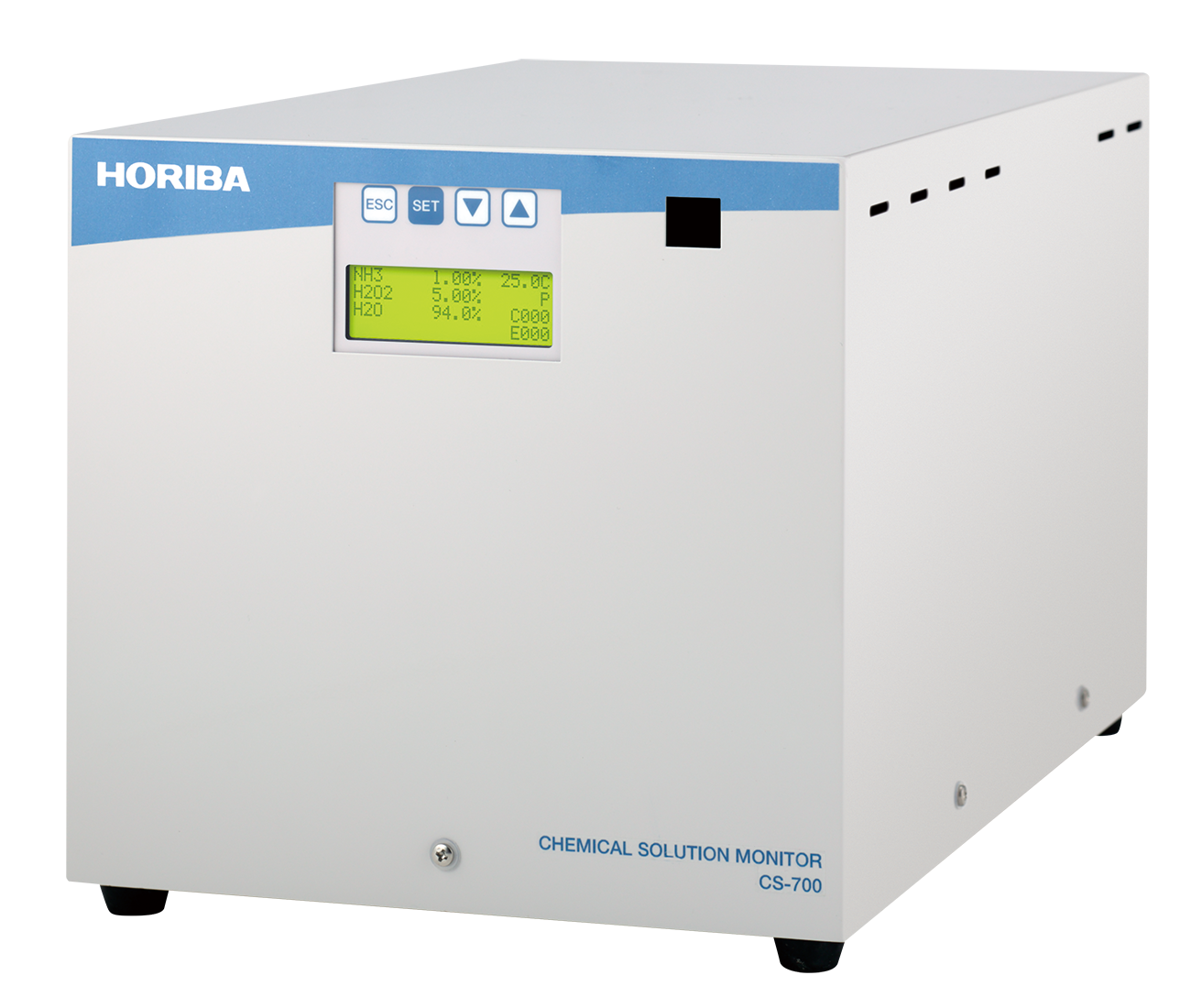 High Precision, High Stability Chemical Concentration Monitor CS-700