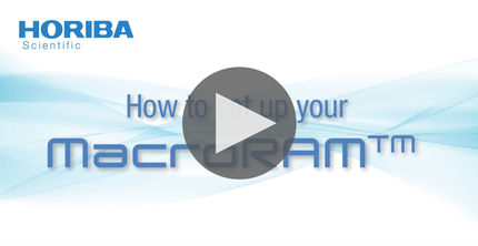 How to set up your MarcoRAM benchtop Raman spectrometer