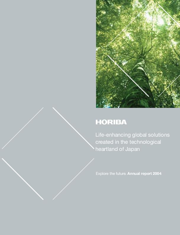 HORIBA Report - HORIBA