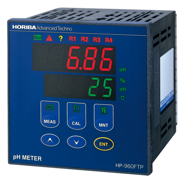 Industrial pH meter four-point alarm and a time sharing proportional control HP-960FTP