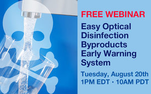Easy Optical Disinfection Byproducts Early Warning System Webinar
