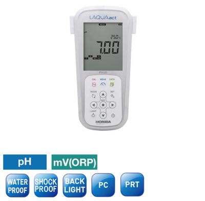 LAQUAact PH120 PortableMeters