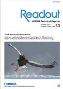 Readout HORIBA Technical Reports October 2019 No. 53