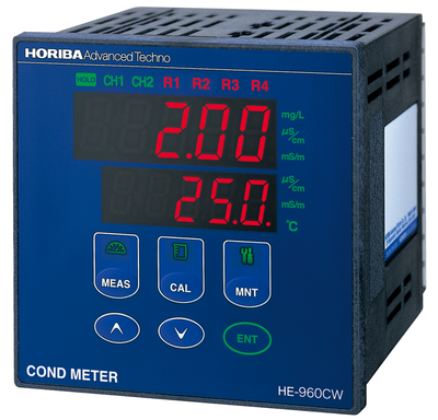2-channel Sanitary Conductivity Meter HE-960CW