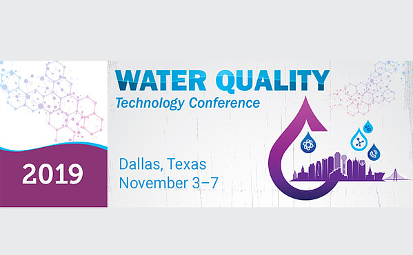 Water Quality Technology Conference 2019