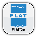 Flat Correction Logo