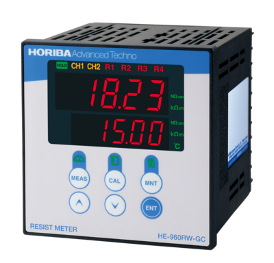2-Channel Resistivity Meter HE-960RW-GC(W)