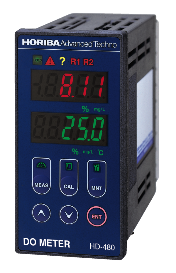 Industrial dissolved oxygen analyzer HD-480 (The Slim48 series)