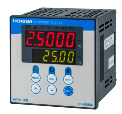In-line Sensor & Auto Range Switching Concentration Monitor HF-960EM