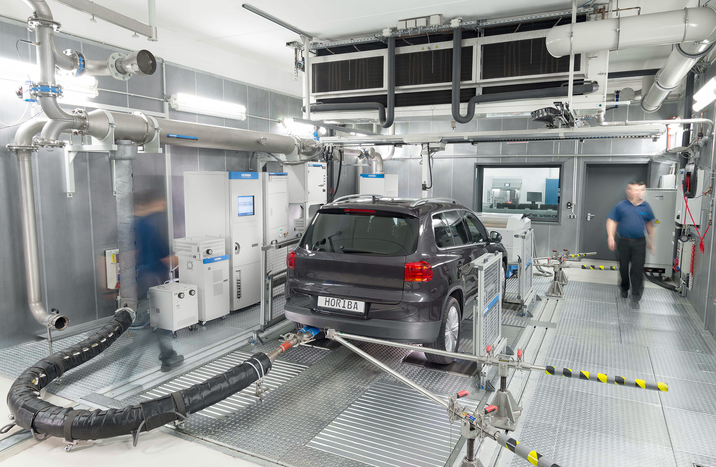 Measuring Vehicle Emission on a Chassis Dynamometer