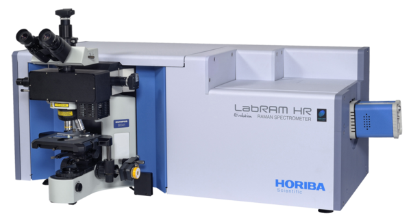 Raman Spectrometer - LabRAM HR Evolution